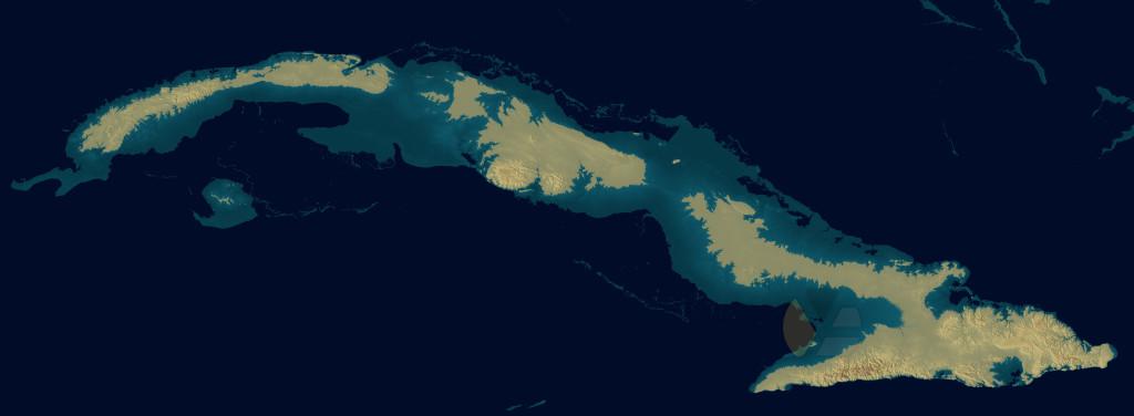 Cuba under water