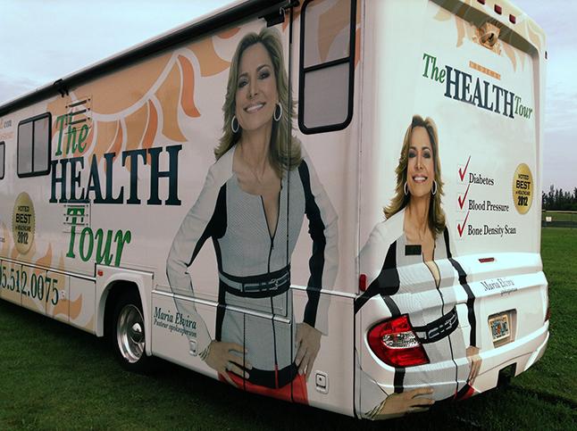 Presentadores de televisión o comentaristas radiales se involucran en campañas publicitarias dirigidas por compañías en busca sobre todo del Medicare en Miami. Foto tomada del blog de Yadira Esobar