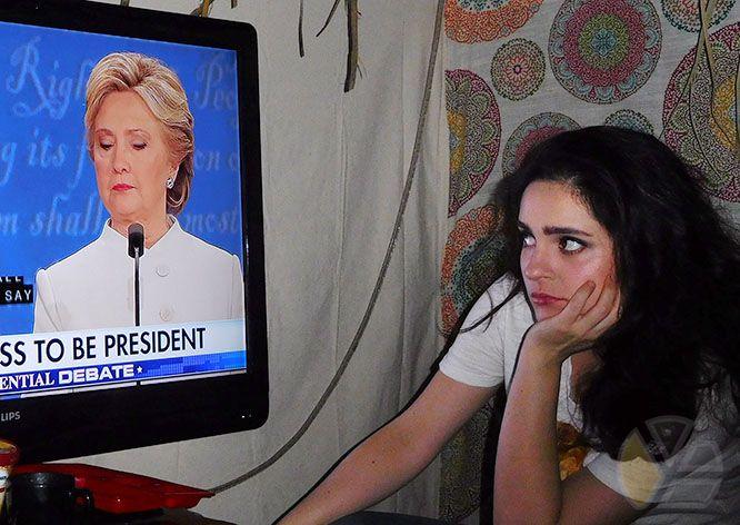 yadira_escobar_donald_trump_hillary_clinton_2016_photo_sukkah_sukkot_television_tv_debate_for_prison_women_for_mujeres_hispanics_democrats_elecciones_blog