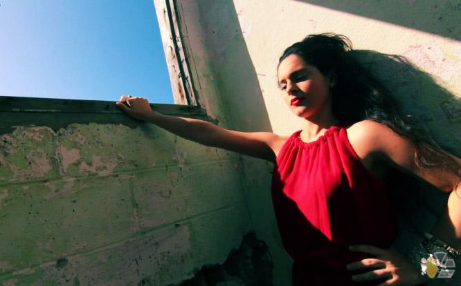 yadira_escobar_playa_beach_red_dress_habana_havana_embargo_bloqueo_blog_disidentes_grupo_caiman